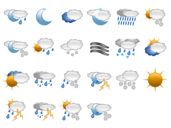 -5 Weather icon png