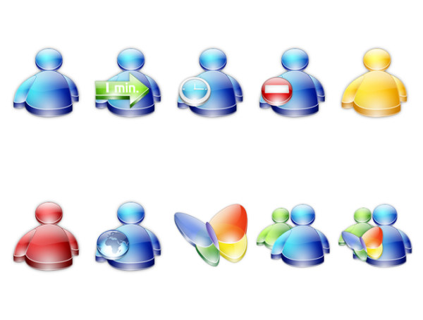 Link toVarious types of icons msn