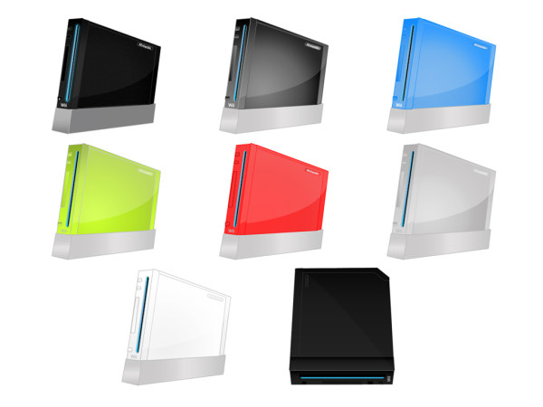 Nintendo Wii icon transparent png