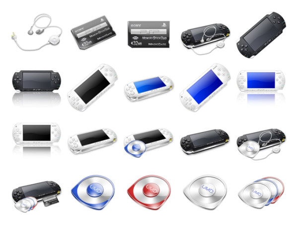 Link toPsp series of transparent material png