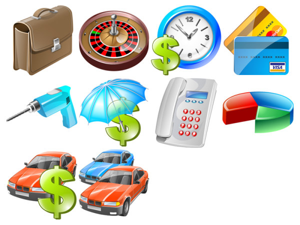 Link toBusiness vista icon png
