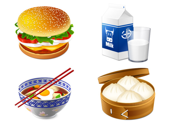 Link toVery fine food icon png