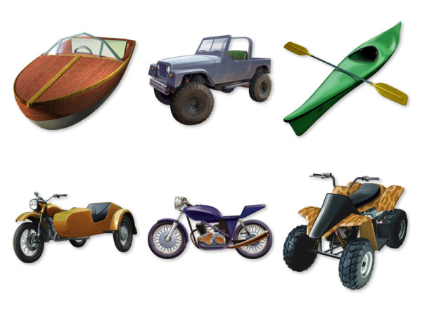 Link toRetro-style transport icon png