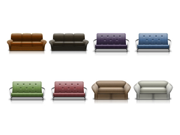Sofa icon transparent png