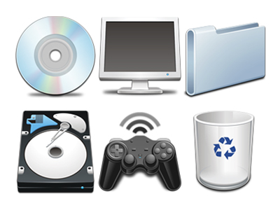 Link toCommonly used computer systems transparent png icon
