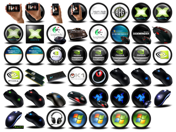 Png icon in the theme of computer hardware