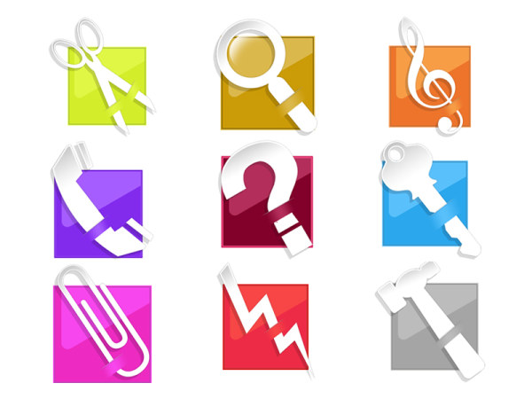 Simple tools for Crystal style icon png