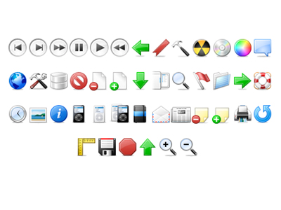 Beautiful and practical small toolbar icon transparent png