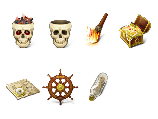 Link toExquisite pirate series icon png
