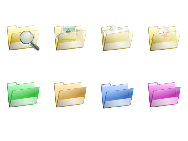 Link toExquisite computer folder icon png