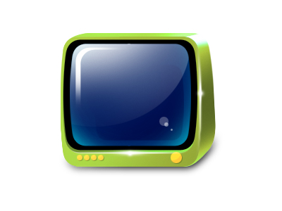 Link toGreen tv icon png