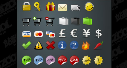 Link toShop commonly used small icon png decoration