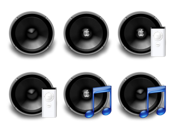 Link toApple speaker icon png