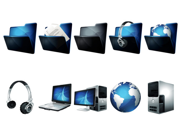 Link toBlue-gray icons png computer system