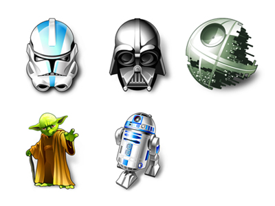Link toStar wars computer cool icon transparent png