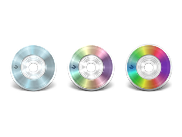 Cool DVD disc icon png