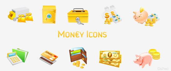 Link toTypes of financial money icon png