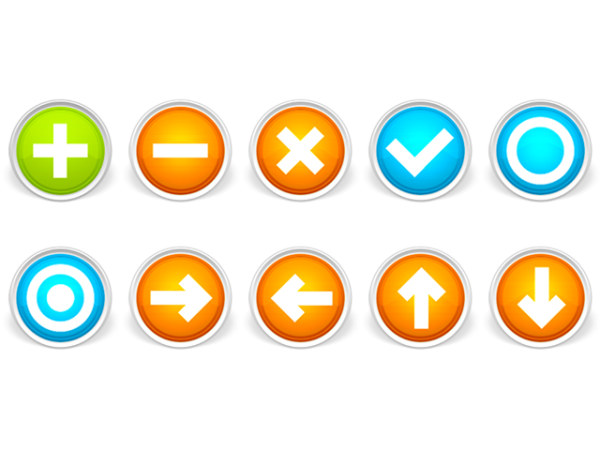 Link toBright radio button icon png