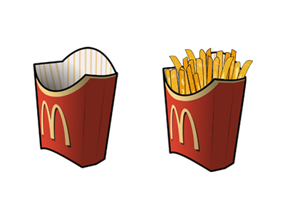 Link toMcdonald's french fries computer icon png