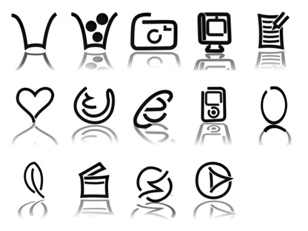 Link toComposed of black icon png graphics