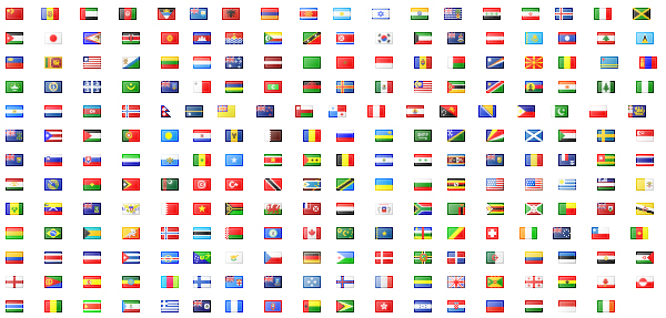 Link toAround the world and regional flag and regional flag icon sm