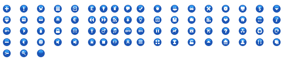 Link toGif small round blue icon theme material