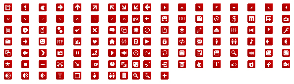 Link toRed theme small icons gif material