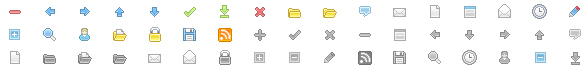 Link toWeb design commonly used small icon gif