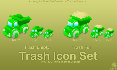 Link toToy dump truck icon
