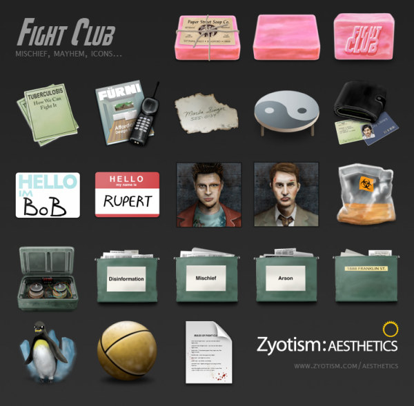 Fight Club (PNG/ICO)