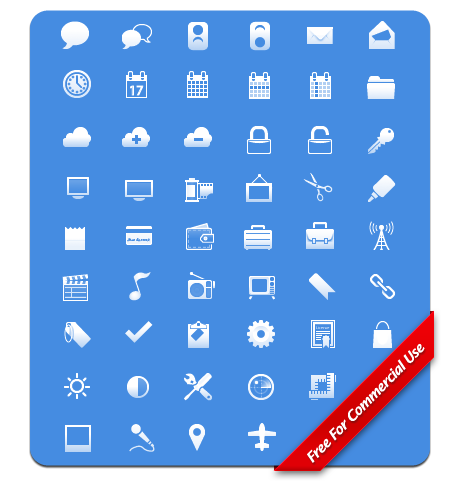 PP-FreeiPhoneToolbar web design decorated small icon png