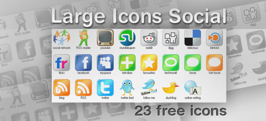 Link toWeb2.0 large icons