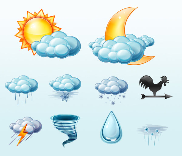 Cool weather icon (png