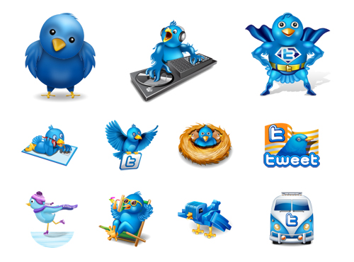 Link to100 cute ideas twitter icon