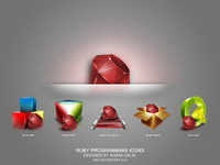Cool Ruby program icons (png)