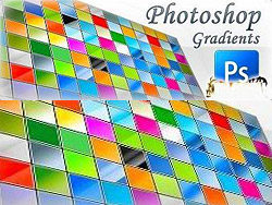 Photoshop gradient section 6000 Collection