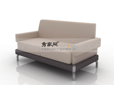 Red apple furniture double sofa