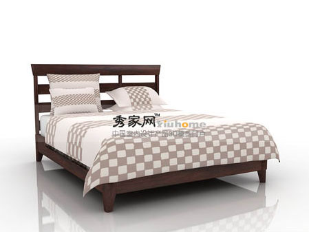 Markor Furnishings horizons contemporary double bed