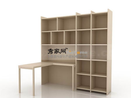 Natleer furniture combination desk bookcase