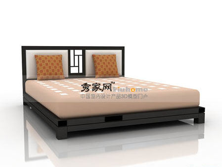 Styledwood furniture double bed