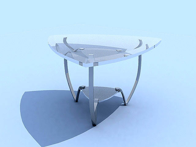 Link toMusterring,tables, furniture, model