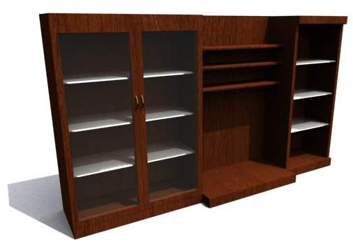 Illinois,Cabinets, furniture,model