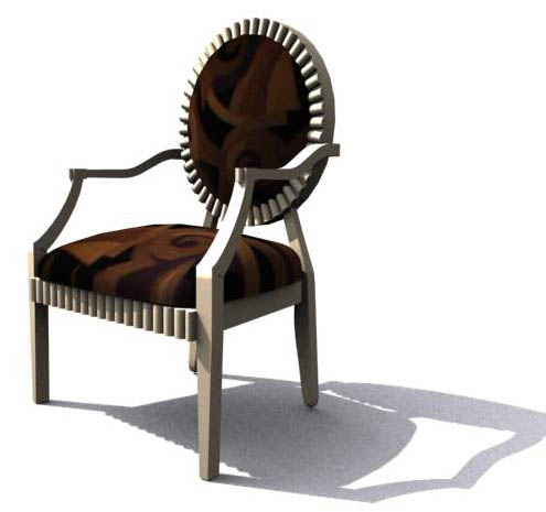 Illinois,Chairs, furniture, model