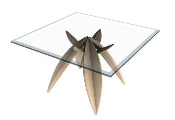 Illinois,coffee table, furniture, model