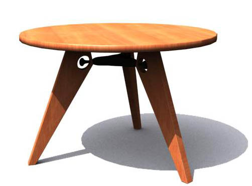 VITRA,tables, furniture, model