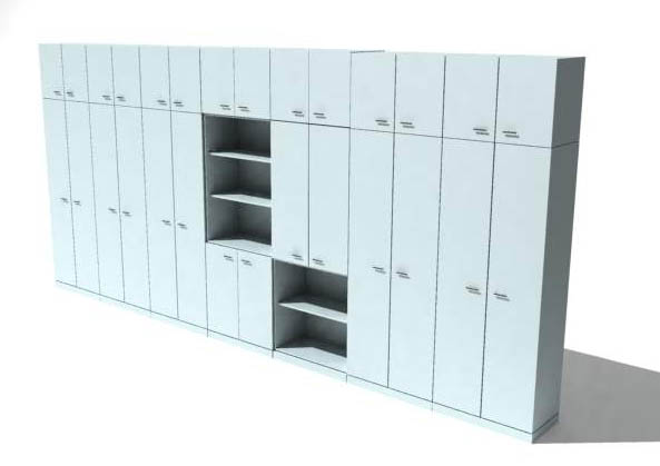China Resources Logic Matheson, cabinets, furniture, model