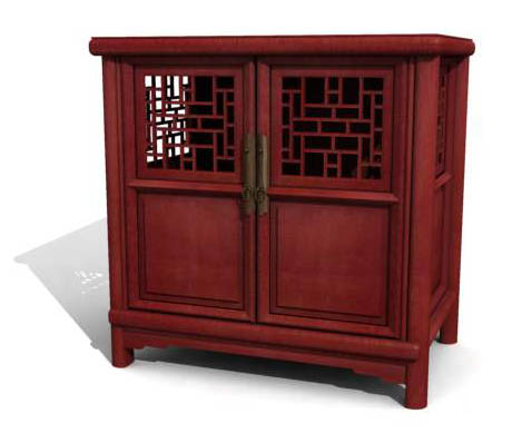 Huayi, cabinet, cabinets, furniture, Chinese, model