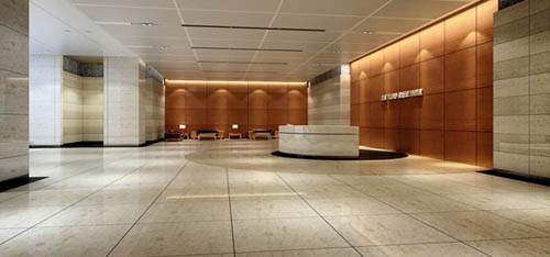 Lobbies -2, hotels, companies, hall, commercial space, model