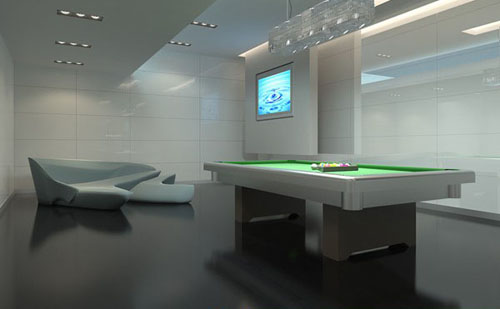 Gymnasium -5, billiard room, Sloek, sports, commercial space