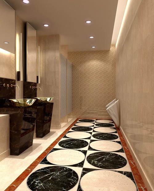Bathroom -1, toilet, toilets, commercial space, model